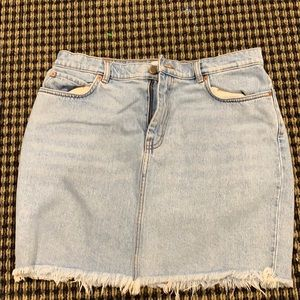 & other stories Jean skirt